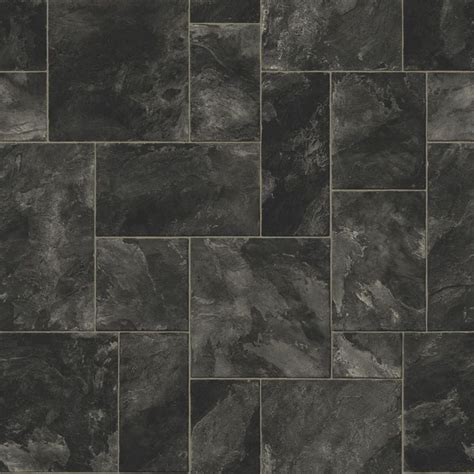 Octavina Black Vinyl 6m²   Vinyls, Bathroom and Slate