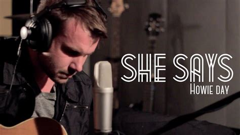 Pinoytuner Presents: Howie Day: She Says - YouTube