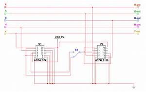 Cga To Vga Converter Circuit Diagram Download Free