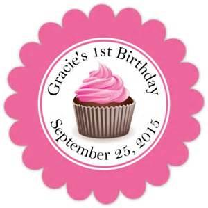 edible cake topper cupcake gift tags cupcake favor tags