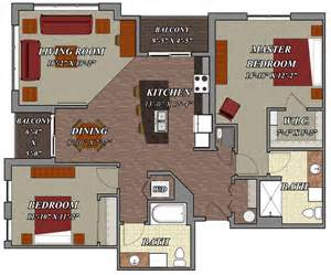 2 bedroom 2 bathroom style d1 lilly preserve apartments