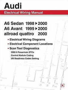 Audi A6 Workshop Wiring Diagram