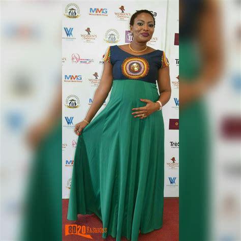 pretty maternity ankara designs fashenista