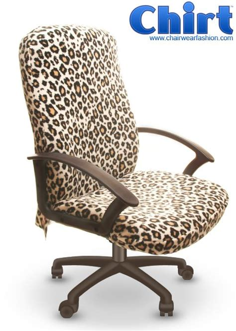 Office Chairs Covers by Leopard Print Office Chair Covers Welcome To The Jungle