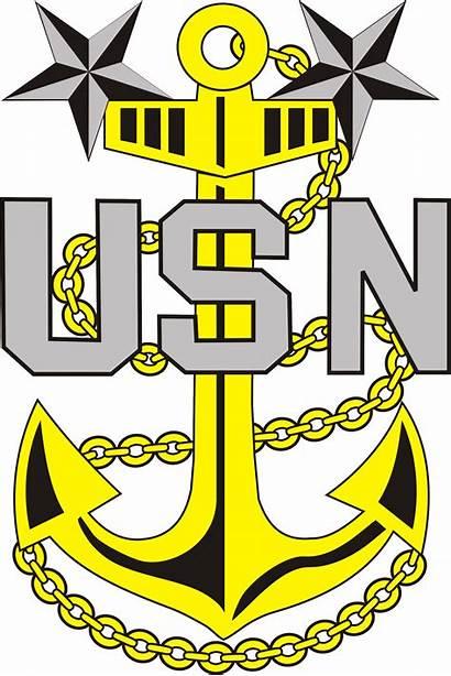 Chief Navy Clip Anchor Master Senior Clipart