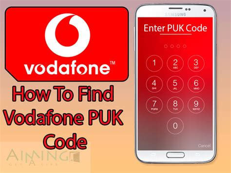 t mobile puk code get vodafone puk code to unblock your vodafone sim card