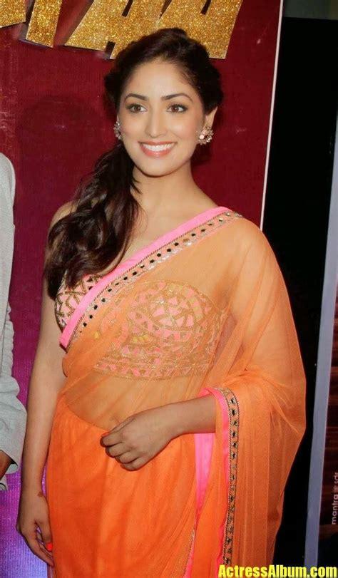 Yami Gautam - Bollywood Actress Latest Saree Stills ...