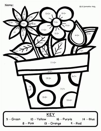 Coloring Pages Grade Clipart 2nd Library Number