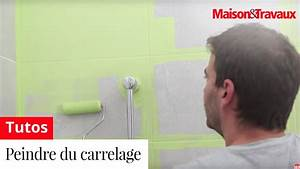 comment peindre du carrelage youtube With comment peindre du carrelage