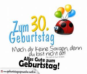 Geburtstagssprüche 30 Lustig Frech : geburtstagsspr che zum 30 geburtstag ~ Frokenaadalensverden.com Haus und Dekorationen