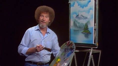 There's Now A Bob Ross Coloring Book And It'll Make You