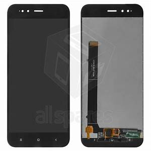 Lcd Compatible With Xiaomi Mi 5x  Mi A1   Black  With