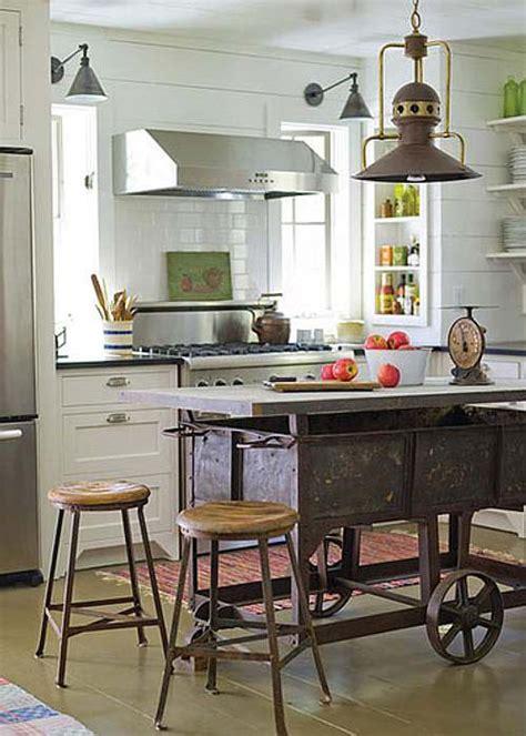 cocina estilo campo  hierro  bronce muebles de cocina