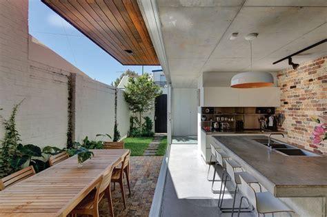 kitchen courtyard designs courtyard house architectureau 1029