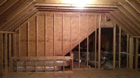 finishing  attic space  insulation plan greenbuildingadvisor