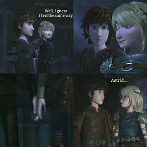 Hiccup and Astrid's romantic relationship | How to Train ...