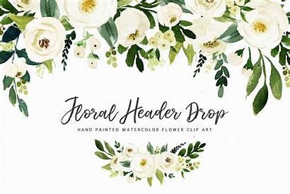 Watercolor Flower Clip Clipart Graphic Flowers Floral
