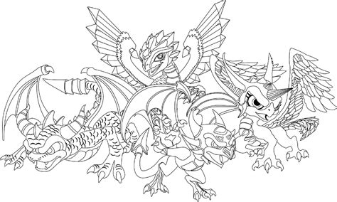 Dragon Colouring Pages To Print