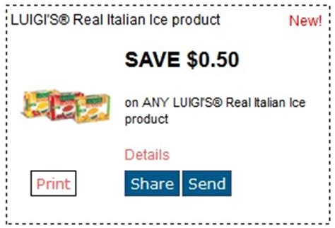 printable coupons luigi's pizza