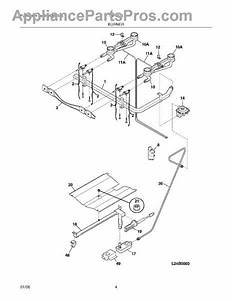 Parts For Tappan Tgf317esc  Burner Parts
