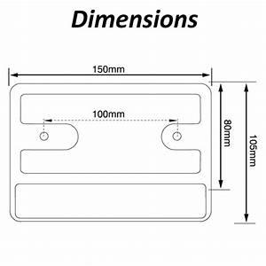 Led Autolamps Lp150m G2 Plug Bracket With Multivolt