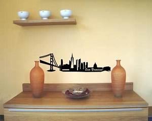 Wandtattoo San Francisco : wandtattoo san francisco skyline frisco verschiedenen gr en und farben lieferbar plot4u ~ Whattoseeinmadrid.com Haus und Dekorationen