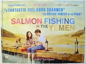 Salmon Fishing In The Yemen - Original Cinema Movie Poster ...