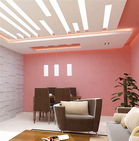 model plafon ruang tamu minimalis  sederhana