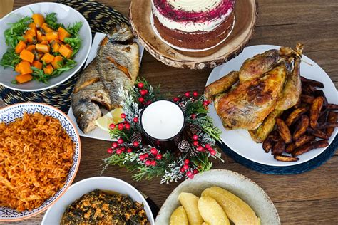 Get exact roast turkey cooking times with. American Christmas Dinner Food - Food with Sarah! | Over ...