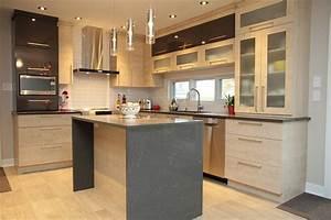 cuisine en bois massif moderne maison moderne With cuisine moderne en bois