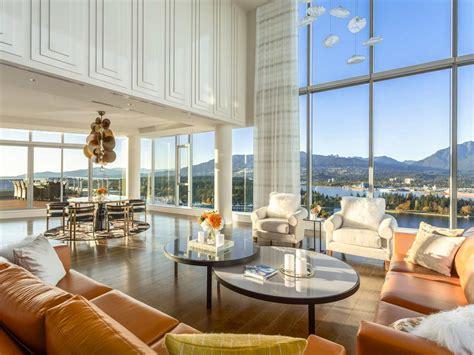 Inside  Million Vancouver Penthouse