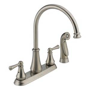 elkay kitchen faucet faucet 21902lf ss in brilliance stainless by delta