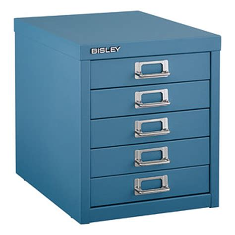 Bisley 5 Drawer Cabinet by Blue Bisley 5 Drawer Cabinet The Container Store