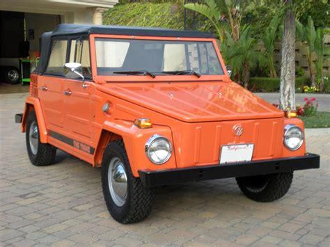 volkswagen thing 1973 volkswagen thing convertible 130965