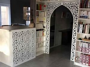 decorez votre interieur avec un claustra en bois With peindre un escalier bois 9 paravent en bois sur mesure par allure et bois