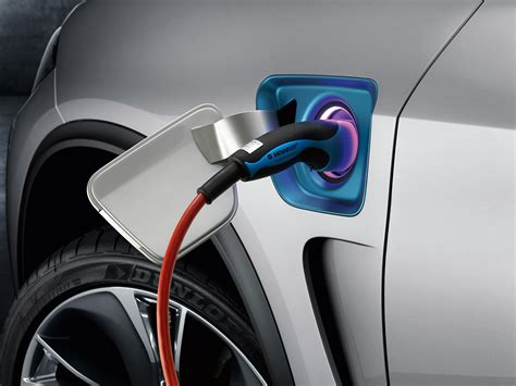 In Hybrid Electric Vehicles by Bmw Concept X5 In Hybrid Electric Vehicle Clean