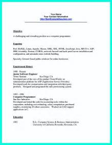 Computer Programmer Resume by Computer Programmer Resume Exles To Impress Employers