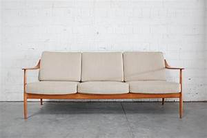 Knoll Antimott Sofa : danish teak sofa by knoll antimott for sale at pamono ~ Sanjose-hotels-ca.com Haus und Dekorationen