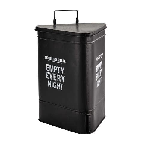 poubelle maison du monde poubelle en m 233 tal h 63 cm en 2019 industriel