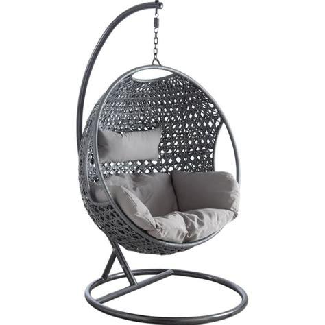 hamac chaise pas cher balancelle sur pied en polyr 233 sine et acier 107x66cm balancelle sur pied en polyr 233 sine et