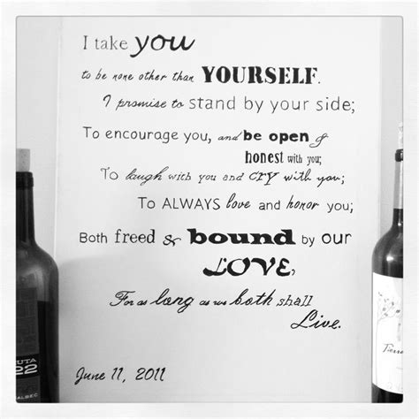 wedding vow exles 17 best images about wedding vows on pinterest wedding film wedding and the vow