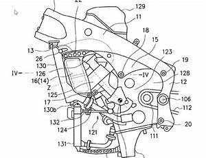 Sketsa Patent Motor Sport 250cc Suzuki  Pakai Sayap