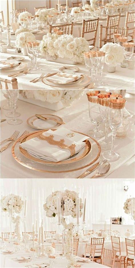 Rose gold wedding theme fairy tale wedding Pinterest