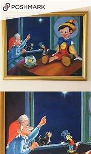 Pinocchio Oil Painting | Painting gift, Oil painting, Painting