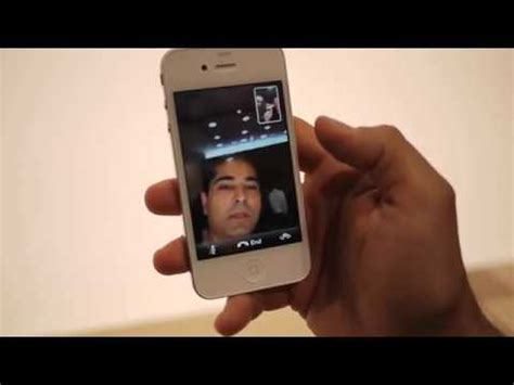 iphone 4 facetime iphone 4 facetime demo by engadget how to save