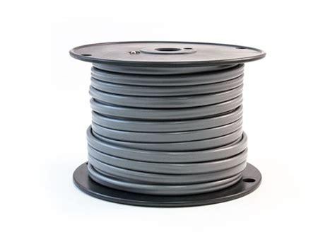 trailer cable flat gray 2 12 ga 100ft tramec sloan