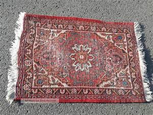 Teppich Läufer Rot : antiker teppich l ufer rot ca 65cmx1m mit fransen blume florales muster ~ Frokenaadalensverden.com Haus und Dekorationen