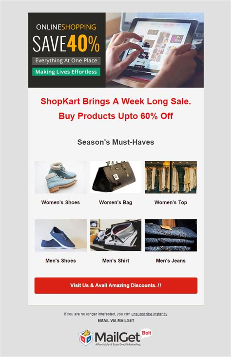 ecommerce email marketing services formget