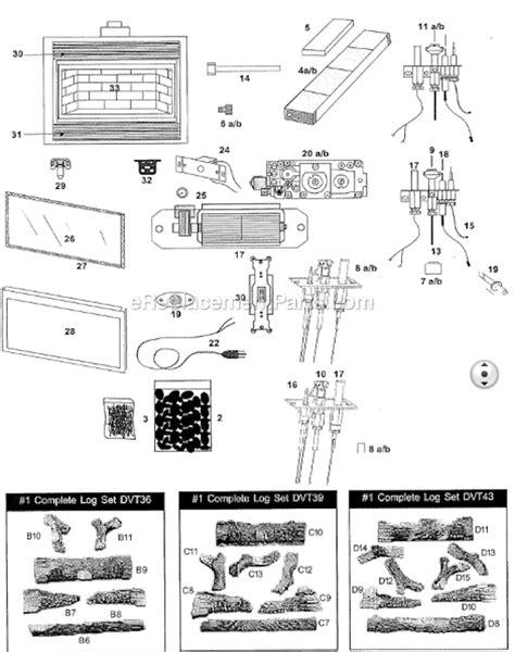 Majestic Dvt Parts List Diagram Ereplacementparts