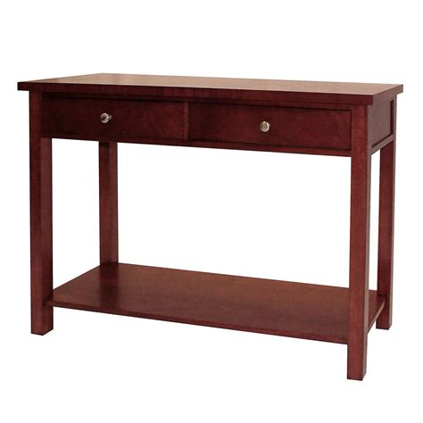 Cherry Sofa Table With Storage Console Tables Stunning
